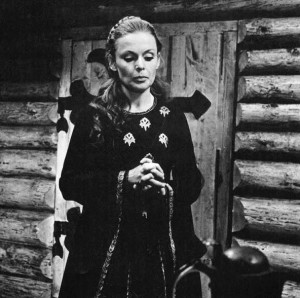 Eugenija Pleškytė's starring role in the film Herkus Mantas not only increased her despise for the oppressors of her country but also gave her new hopes that some day she would find her brother.