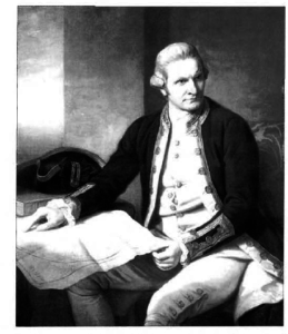 1785 painting was made during his stay in Vilnius. TOP: Portrait of James Cook by Nathaniel Dance-Holland (1776). Forster participated in Cook's second voyage to the South Pacific.