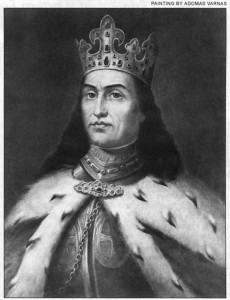 Vytautas the Great was the most famous ruler descended from the Gediminas family.
