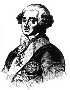 King Stanislovas Augustas Poniatovskis appointed as general of his army, but a few short years later lost his crown and became known as the last king of Lithuania and Poland.