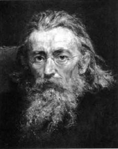 The artist's self-portrait, 1892.
