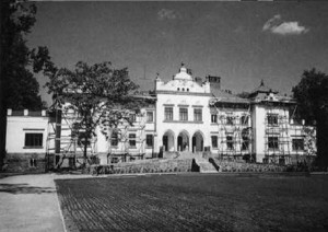 The Tizenhauzas Palace is also getting a facelift for the city's 500th birthday celebration