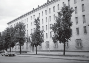 The austere gray building of the Lithuanian State Historical Archives looks more like a Soviet-era apartment complex than the repository of historical treasures.