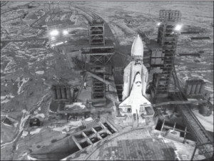The Baikonur Cosmodrome in the former Soviet Republic of Kazakhstan was the world's largest space-launch complex.