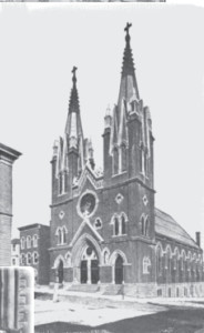 St. George Lithuanian Catholic Church in Shenandoah, Pennsylvania. (1916 photograph.)
