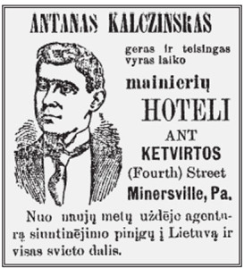 """A miners' hotel run by a good and honest man."""