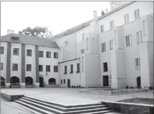 Sarbievijus Courtyard.