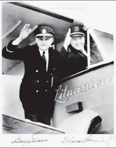The most famous photograph of the flyers and their plane. It was used extensively to promote the flight