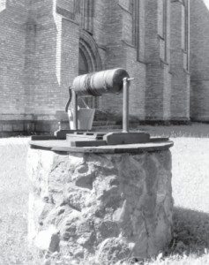 The well in the church's yard.