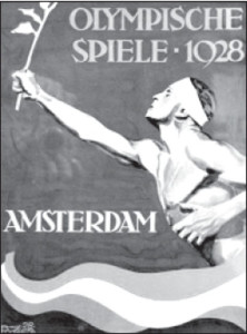 Poster of the 1928 Summer Olympics.