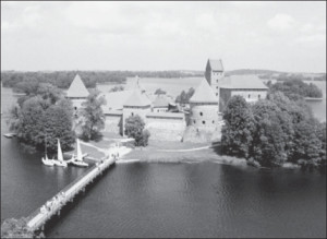 Trakai Castle is where Vytautas was born and spent much of his life. It is also where Grand Duchess Ona resided and where she died. Her body was interred next to her husband's in Vilnius Cathedral.