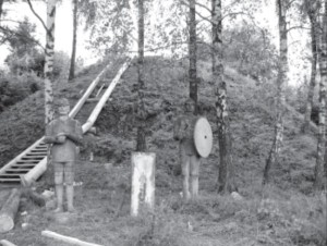 Žilvios hillfort is guarded by ancient warriors