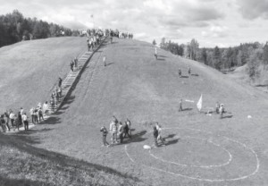 The Šeiminiškėliai (Voruta) hillfort attracts scores of visitors each year.