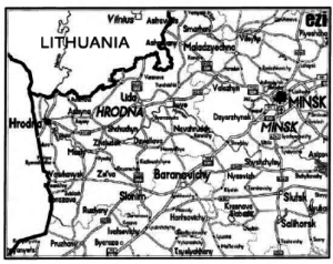 Map Of the area visited by the author.