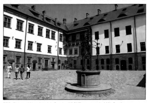 Courtyard of Mir Castle