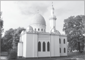 The Tatar mosque in Kaunas has recently been renovated.