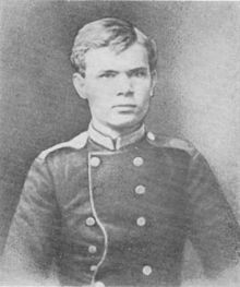 Zygmunt Mineyko when he was about 18 years old. At that time, he studied at the Military Academy in St. Petersburg, Russia.