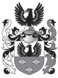The Sulima coat of arms used by a number of families belonging to the Polish-Lithuanian Commonwealth, including the family of which Igor Stravinsky was a descendant.