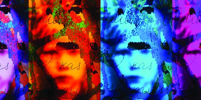 "Dr. Andrius Plioplys' light sculpture series, ""Siberia Souls"" ."