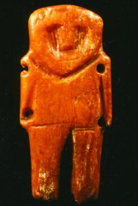 Amber amulet.