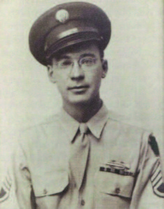 Stanley in uniform during WWII.