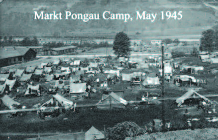 Markt Pongau German prisoner of war camp in 1945.