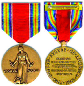 World War 2 Victory Medal.
