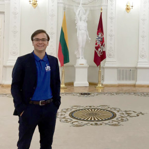 Jonas Majauskas at Lithuania's president office.