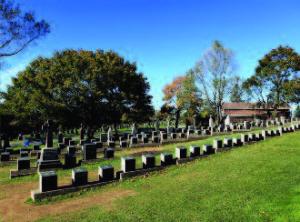 Cemetery in Halifax, Nova Scotia, Canada.