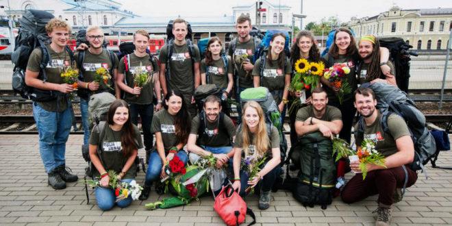 Mission Siberia participants.