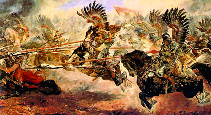 Charge of the winged hussars, the most formidable cavalry in the history of humankind.