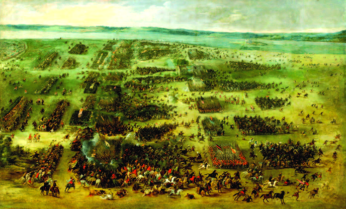 Painting of the Battle of Kircholm (1605) by Pieter Snayers.