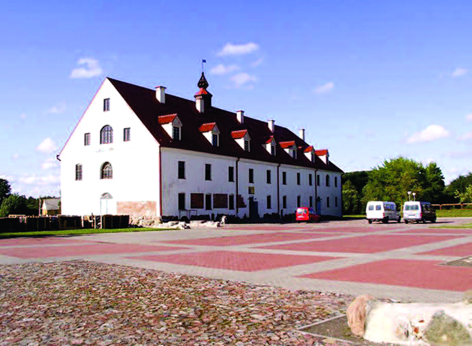Kražiai College, established with the financial support of J. K. Chodkevičius in 1610s.