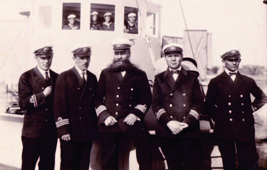 Coast guard officers.