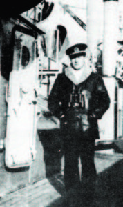 "Povilas Labanauskas on the ""Prezidentas Smetona""; he managed to escaped from the ship to freedom while Lithuania was occupied by the Soviets in 1940."