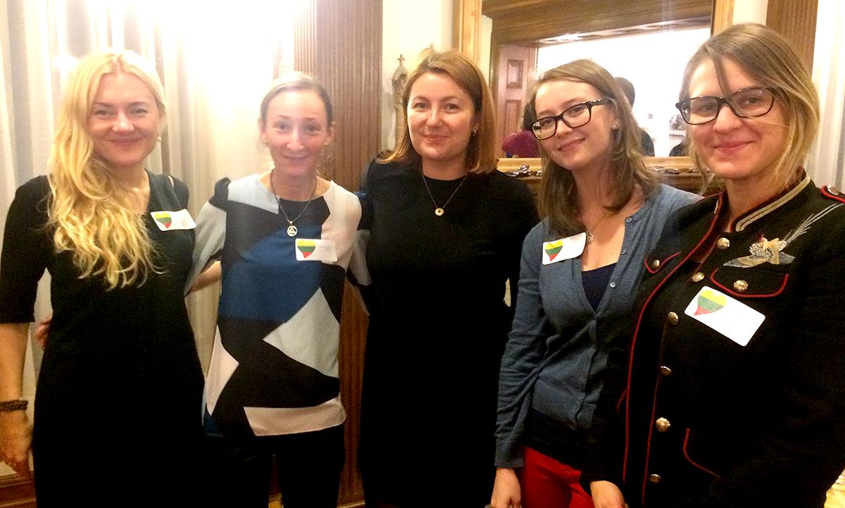 Alise Krapane, Neringa Miliauskaitė, Kristina Belikova, Indra Ekmanis, and Agnietė Gabrielaitytė.