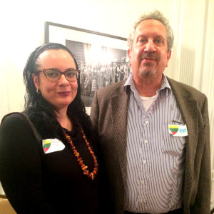 BAFL Director Alexandra Kudukis (l.) and JBANC Managing Director Karl Altau.