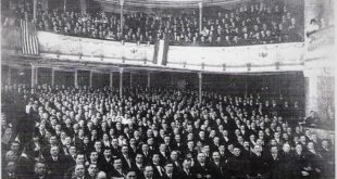 Lithuanian American National Council, Madison Square Garden, New York, March 13-14, 1918.
