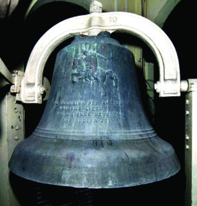 """Oh, ring through the ages, for the children of Lithuania."" The Lithuanian Liberty Bell – a gift from Lithuanian Americans to their homeland, 1919."