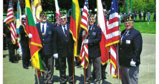 Lithuanian Legion Baltimore Post 154 at the annual Kosciusko Commemoration at West Point in 2010.