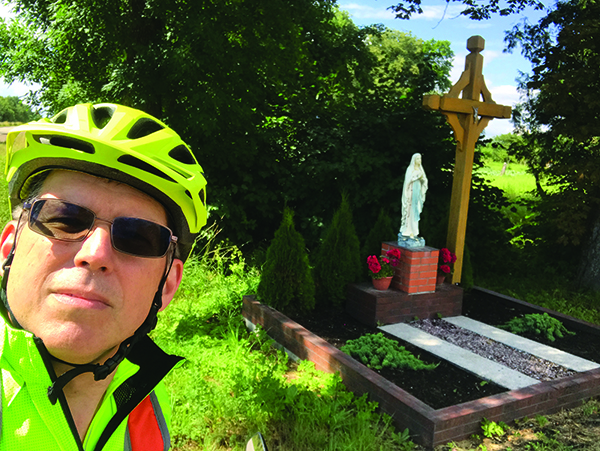 Biker John Baltrus revisits Lithuania.