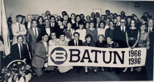 BATUN's 20th anniversary celebration at the UN in New York. Gintė Damušis is in the second row, 7th from the left.