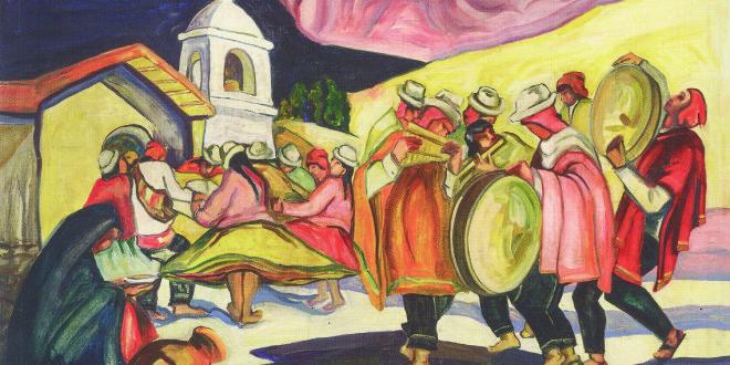 Jonas Rimša.Indėnų šokėjai