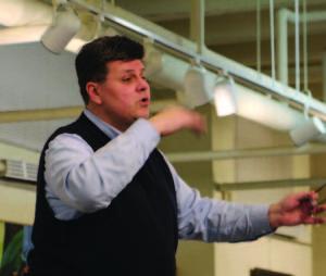 Darius Polikaitis ruošia ansamblį ypatingam koncertui.