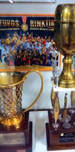 Krepšininkų apdovanojimai.