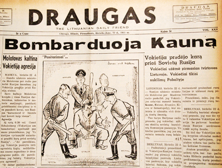 Kaunas is being bombed. June 23, 1941