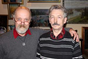 Oleg Kasperovič ir Filibertas Tamoševičius.