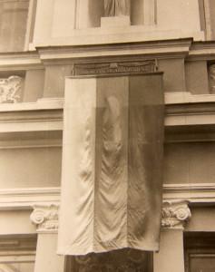 Memorialinės lentos atidengimas.
