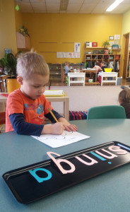 Montessori mokykla.