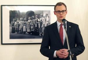 Lietuvos užsienio reikalų ministras Mantvydas Bekešius.